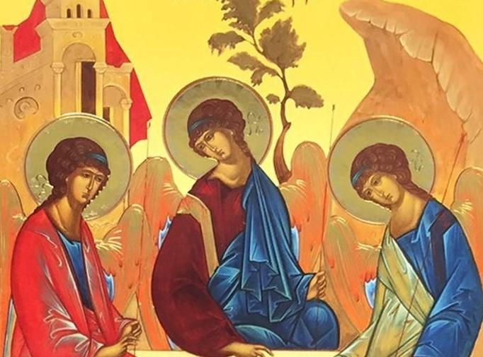 Detalle del icono de André Rubleck